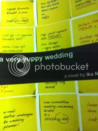 a very yuppy wedding - ika natassa