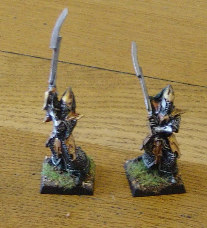 WHFB: Dark Elf Executioners (3/3)