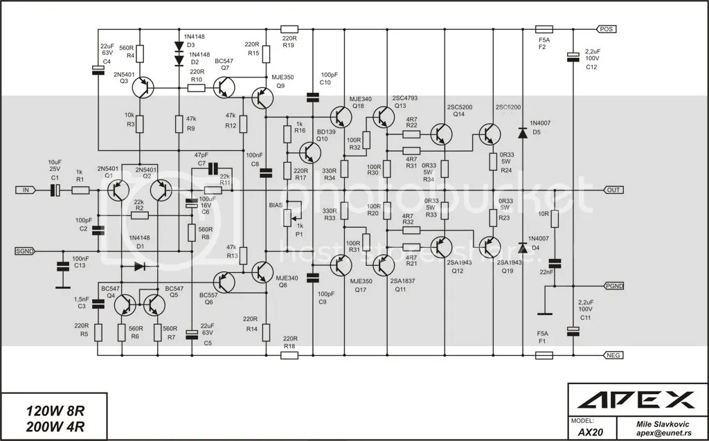 My project for amp replacement for Yamaha CA-2010 with