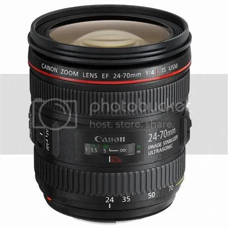 Canon EF 24-70mm f/4L IS Video Review