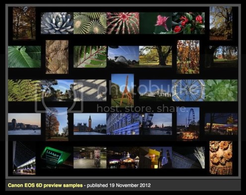 Canon EOS 6D Sample Pictures Published (DPreview)