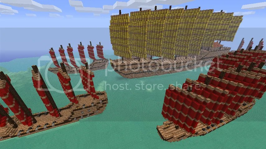 Zheng He's Treasure Fleet - Screenshots - Show Your Creation - Minecraft Forum - Minecraft Forum
