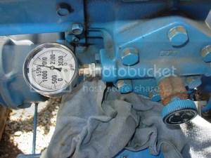 Hydraulic problems on 1700 ford tractor