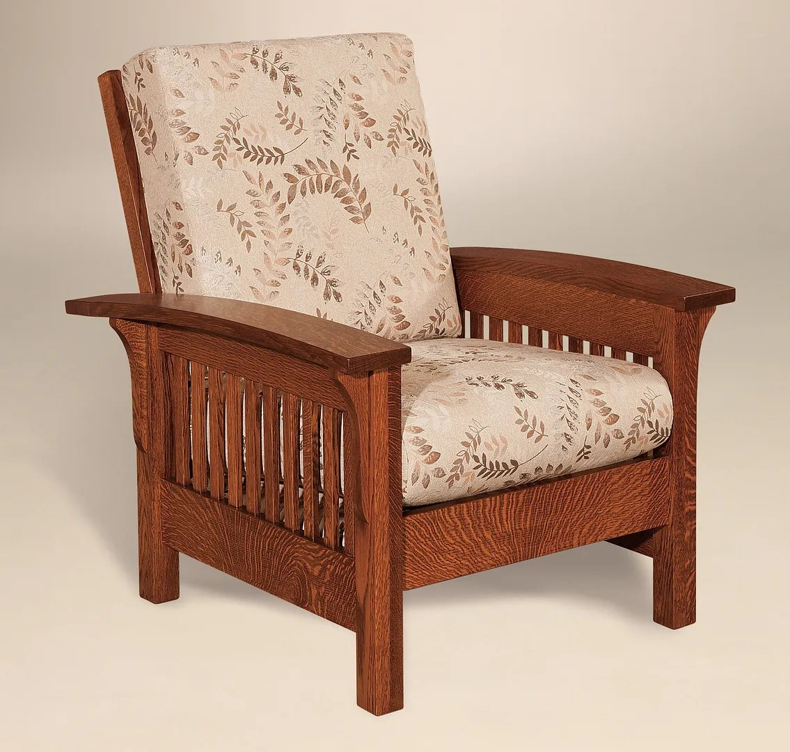 Mission Style Chairs Amish Handcrafted Mission Craftsman Accent Chair Empire