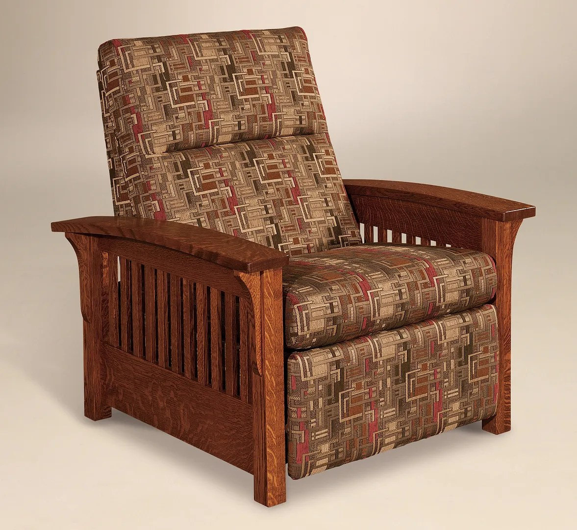 Mission Recliner Chair Amish Mission Arts And Crafts Recliner Chair Skyline Slat