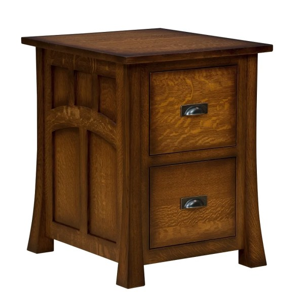 Solid Wood Lateral File Cabinet