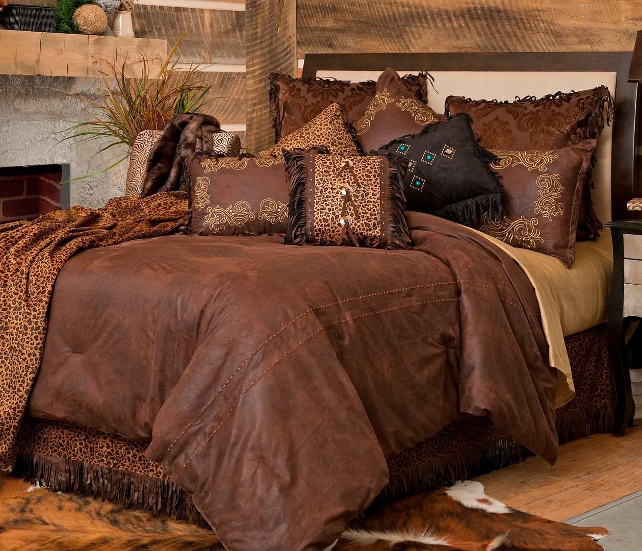 Western Bedding Set Bed Comforter Twin Queen King Rustic