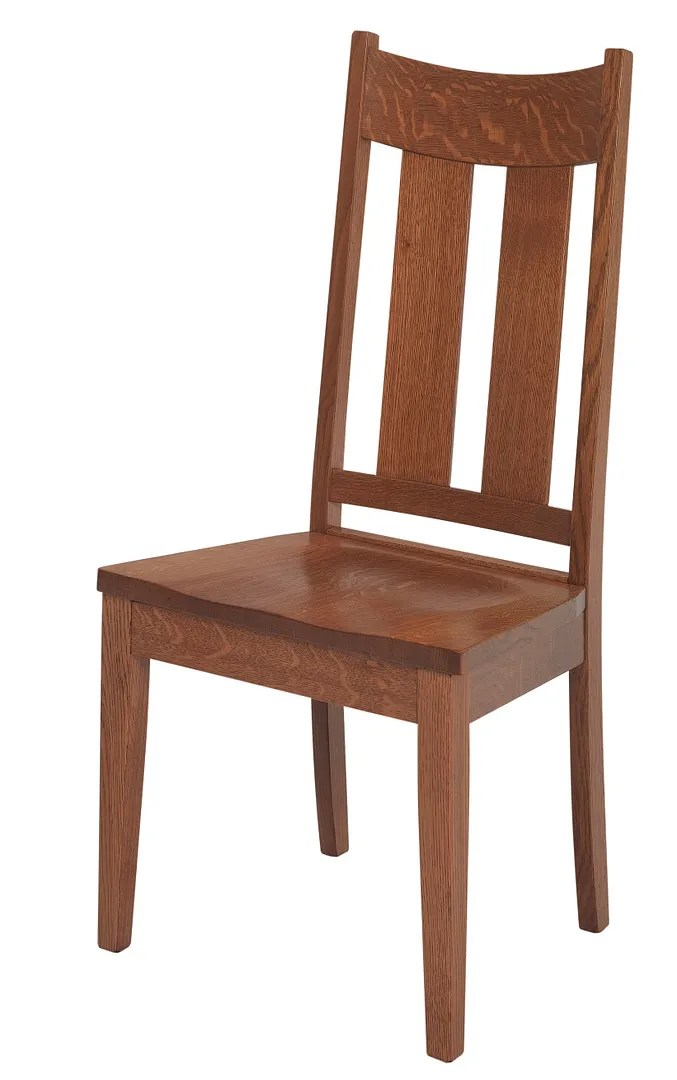 table and chair covers ebay chairs cushion pads set (4) amish mission craftsman slat dining side solid wood aspen |