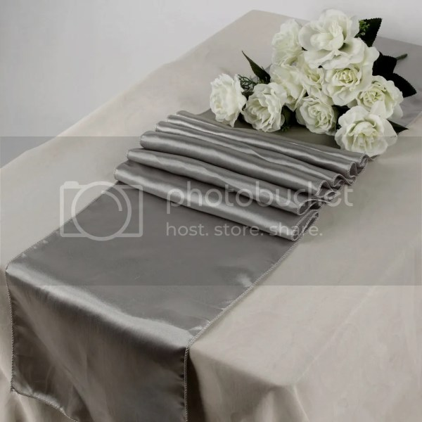Mds 10 Wedding 12 X 108 Satin Table Runner