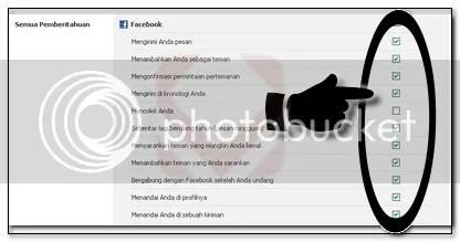5.Cara Memblokir Pesan Pemberitahuan Facebook