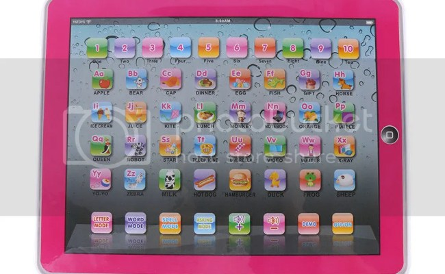 Baby Tablet Educational Toys Girls Toy For 1 3 Year Old