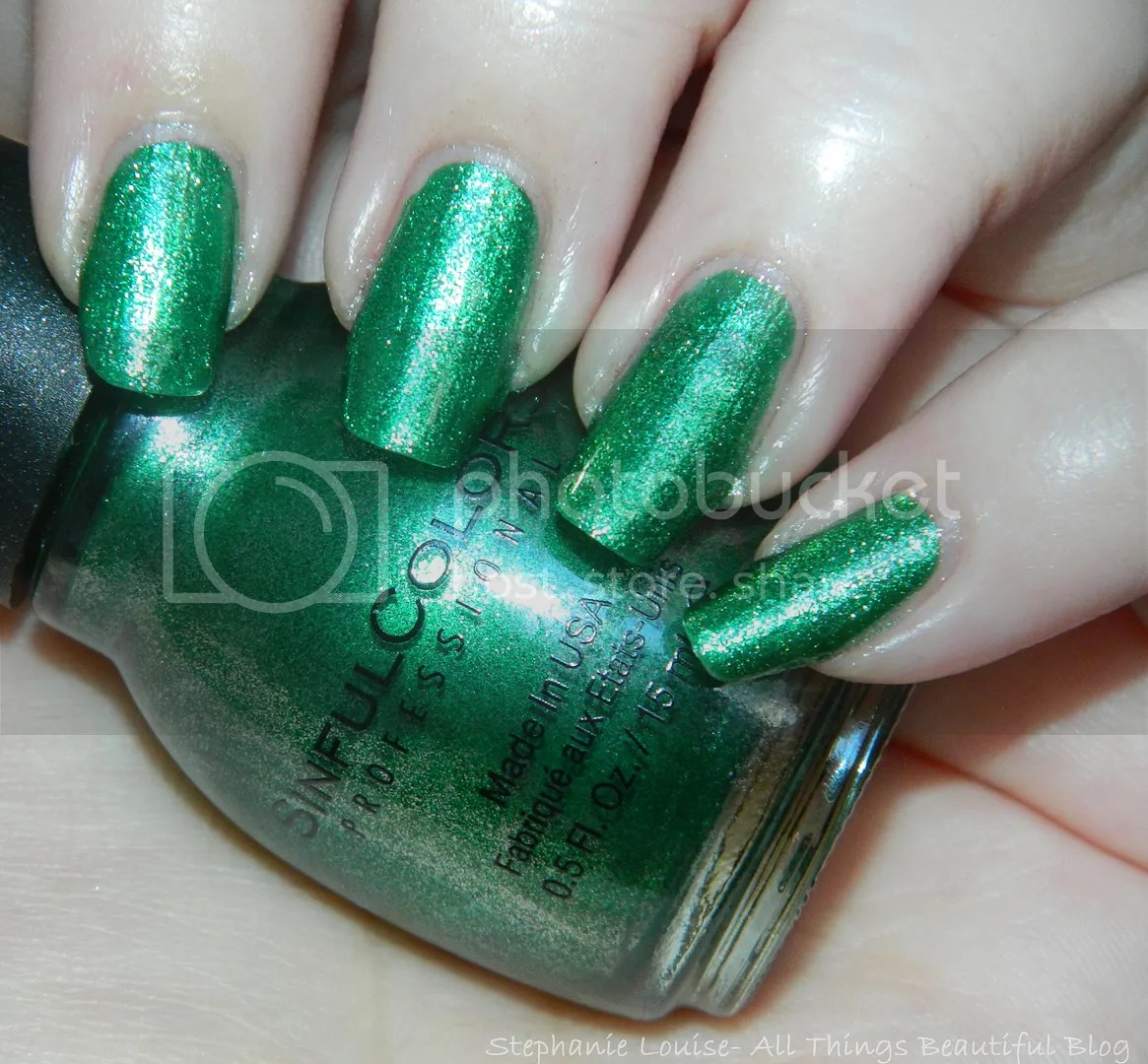 Sinful Colors Mirror Metallics Nail Polish Swatches In