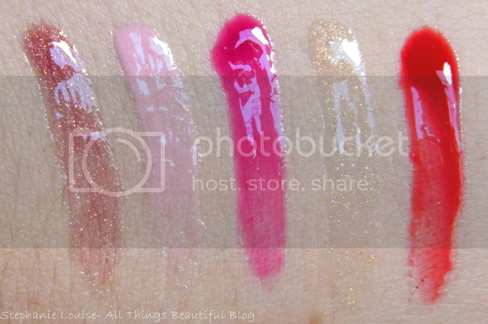 Smashbox Wondervision Holiday Lip Gloss Set Swatches & Review