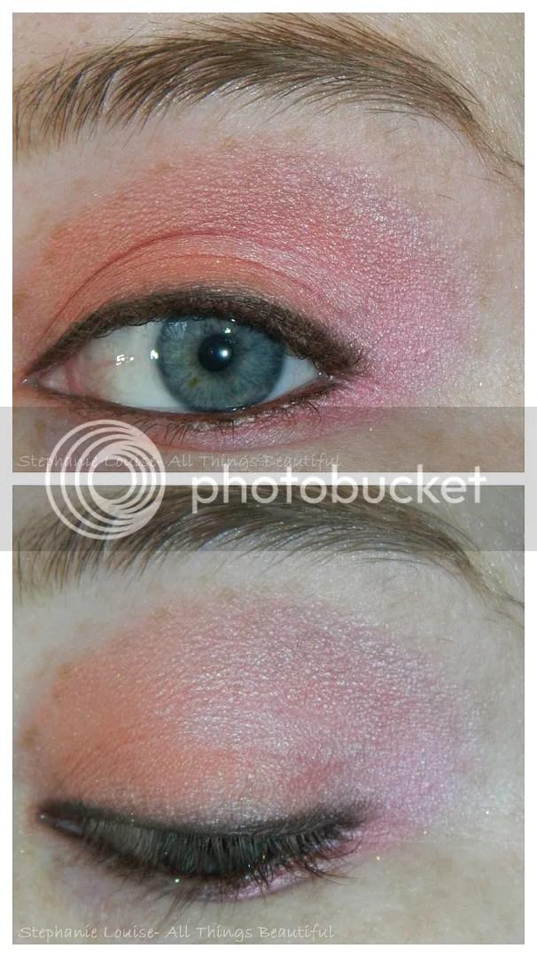 Pop Of Peach & Pink Eyeshadow Tutorial Using Too Faced
