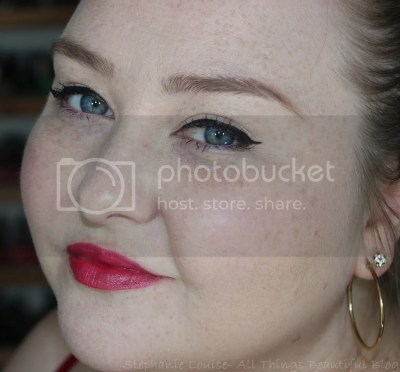 Tarte Amazonian Butter Lipsticks Swatches & Review - This is in the shade Candy Red