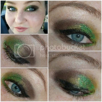 Wicked Green Glitter Eye Makeup Orpheum Theater Review Glamour Doll Eyes Main