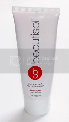 Beautisol Exscrub Me? Citrus Face Exfoliant Review & Up Close Shots