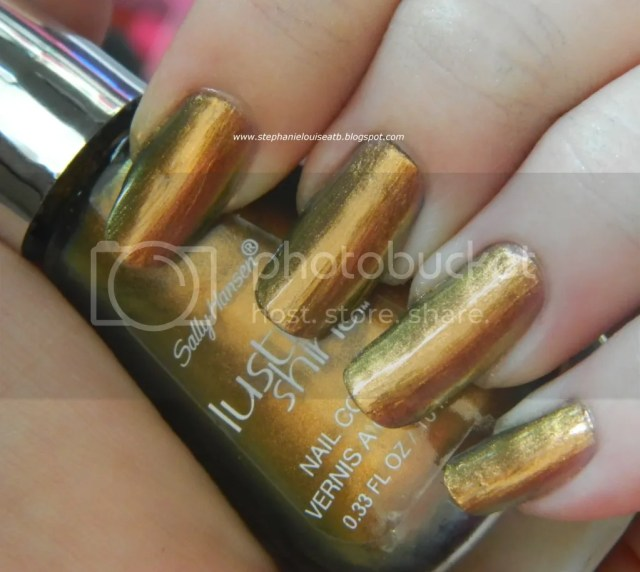 Sally Hansen Lustre Shine in Plume Swatches & Review