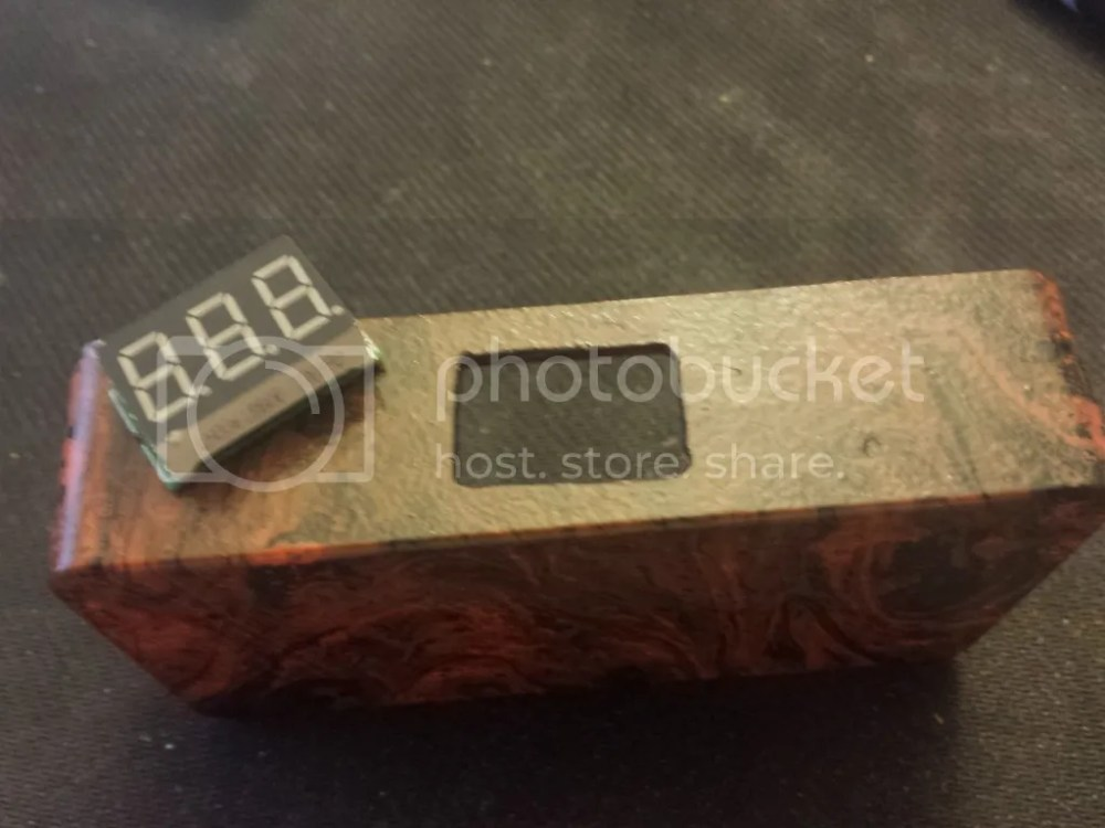 medium resolution of epoxy in the voltmeter