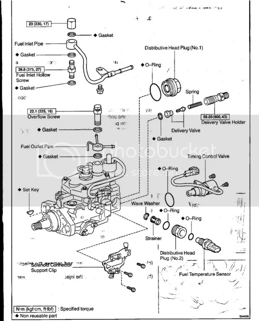 1kz Te Diesel Pump Diagram