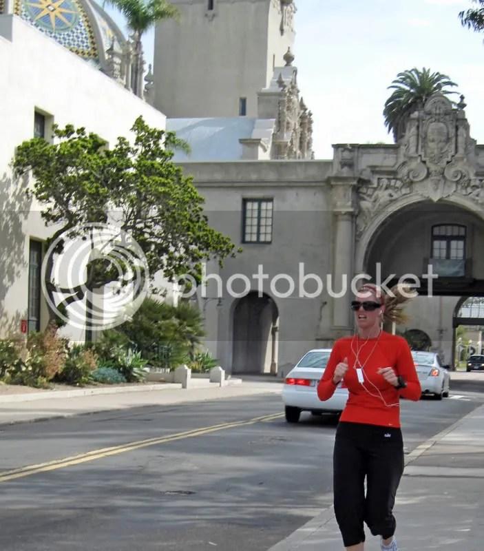 Balboa Park walking