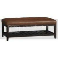 Coffee Table Ottoman (Crate & Barrel) pics