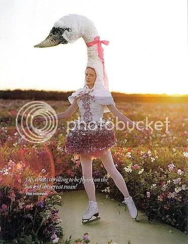 bellavintage,costumes,swans