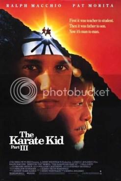 """Cartel de """"Karate Kid 3: el desafío final"""""""