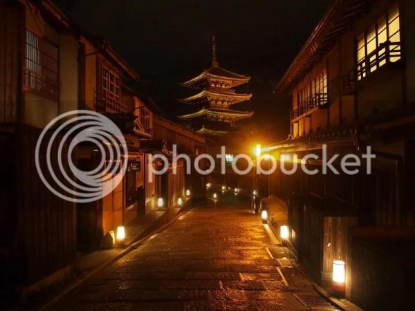 El precioso festival de iluminación Higashiyama Hanatouro en Kioto