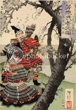 Las flores de sakura y los samurai