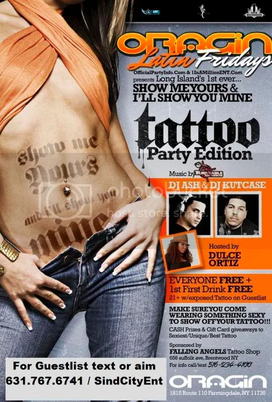 CASH PRIZES TO THE BEST TATTOO