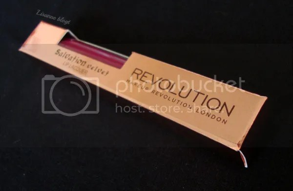 Makeup Revolution, Salvation Velvet Lip Lacquer. Rebel