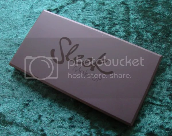 Review Sleek Garden Of Eden palette casing