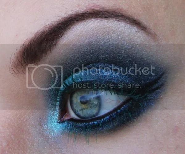 Turquoise lashes2 by Lisanne blogt