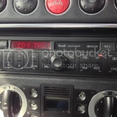 Audi A2 Radio Wiring Diagram Trailer Light 6 Pin The Tt Forum  View Topic Stereo Removal