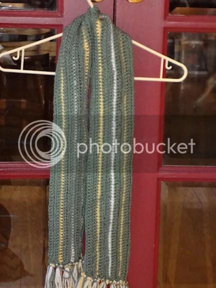 Aiden scarf free crochet pattern