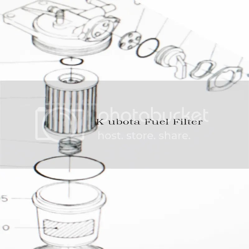 Use Fit Kubota Tractor Gasoline Fuel Filter L2808 3408