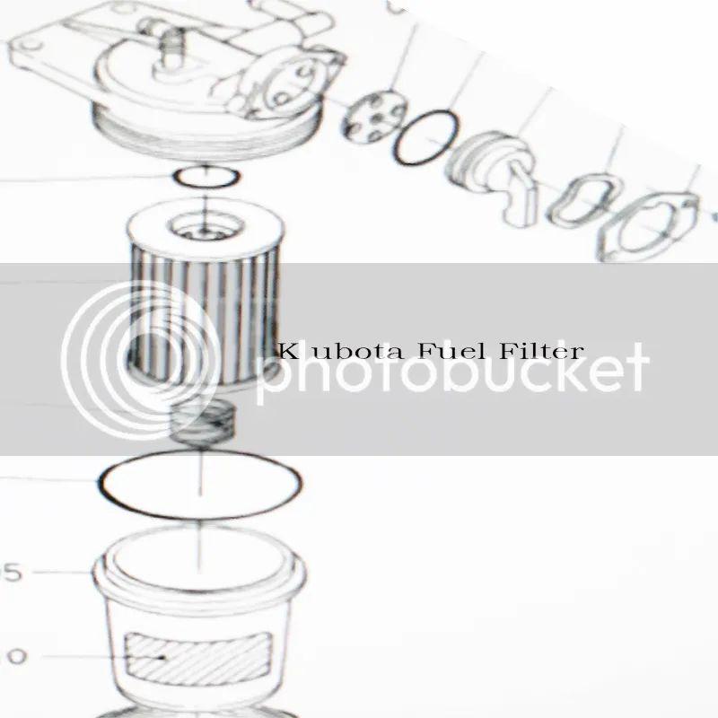 tractor fuel filters kubota m7040