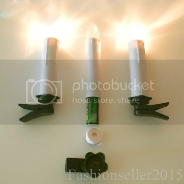 10pcs Wireless Led Remote Control Candles Lights Christmas
