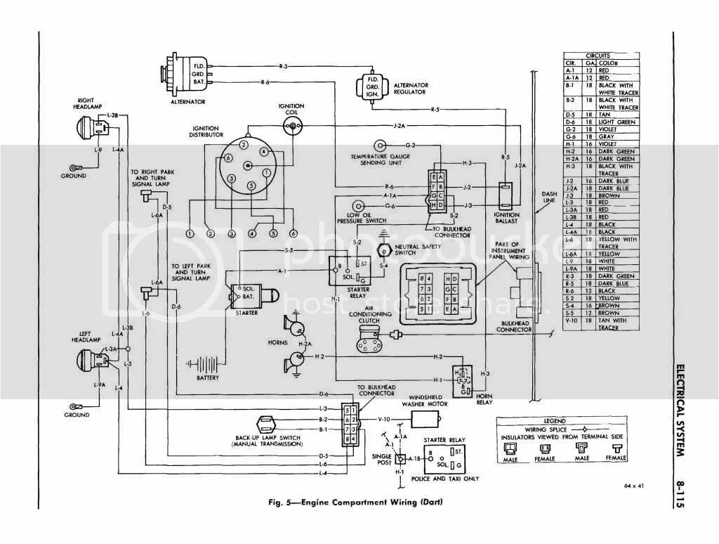 Dodge Dart Wiring Schematic