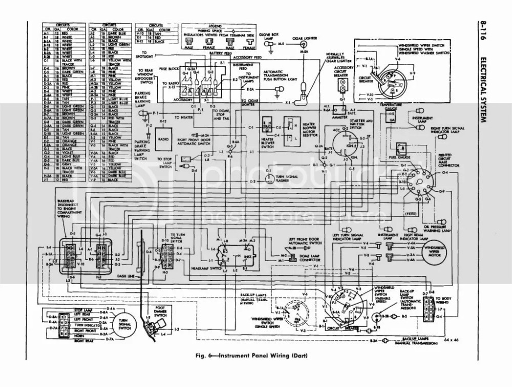 medium resolution of 1964 dodge dart wiring diagram wiring diagram online 1964 dodge dart wiring diagram