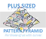 Plus sized Pattern Pyramid