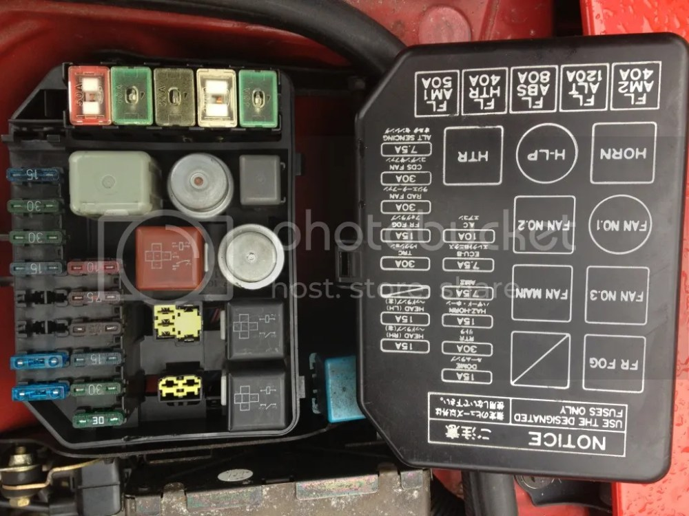 medium resolution of 92 toyota mr2 fuse box wiring diagram 92 toyota mr2 fuse box
