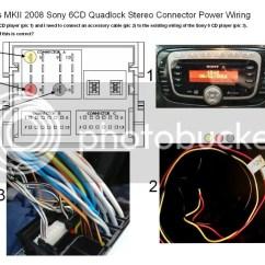 Ford Focus Cd Player Wiring Diagram Fender Precision Plus Sony 6cd Repair Manual