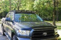 SUPER Low Profile Roof Rack w/ LED Lighting