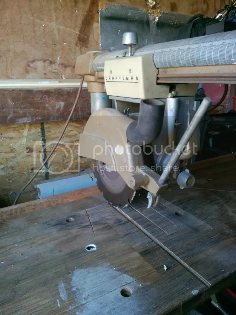 Craftsman Contractor Series 10 Radial Arm Saw