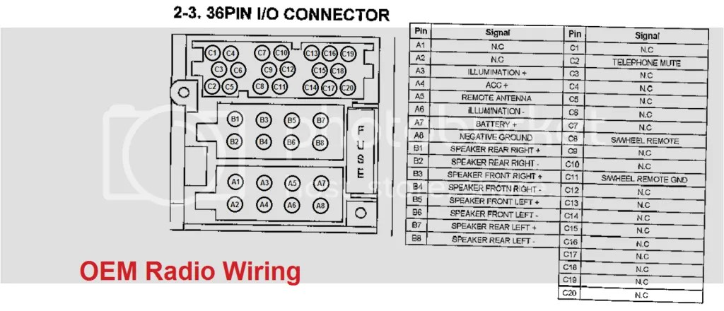Wiring Diagram For Radio In 2010 Kia Rio