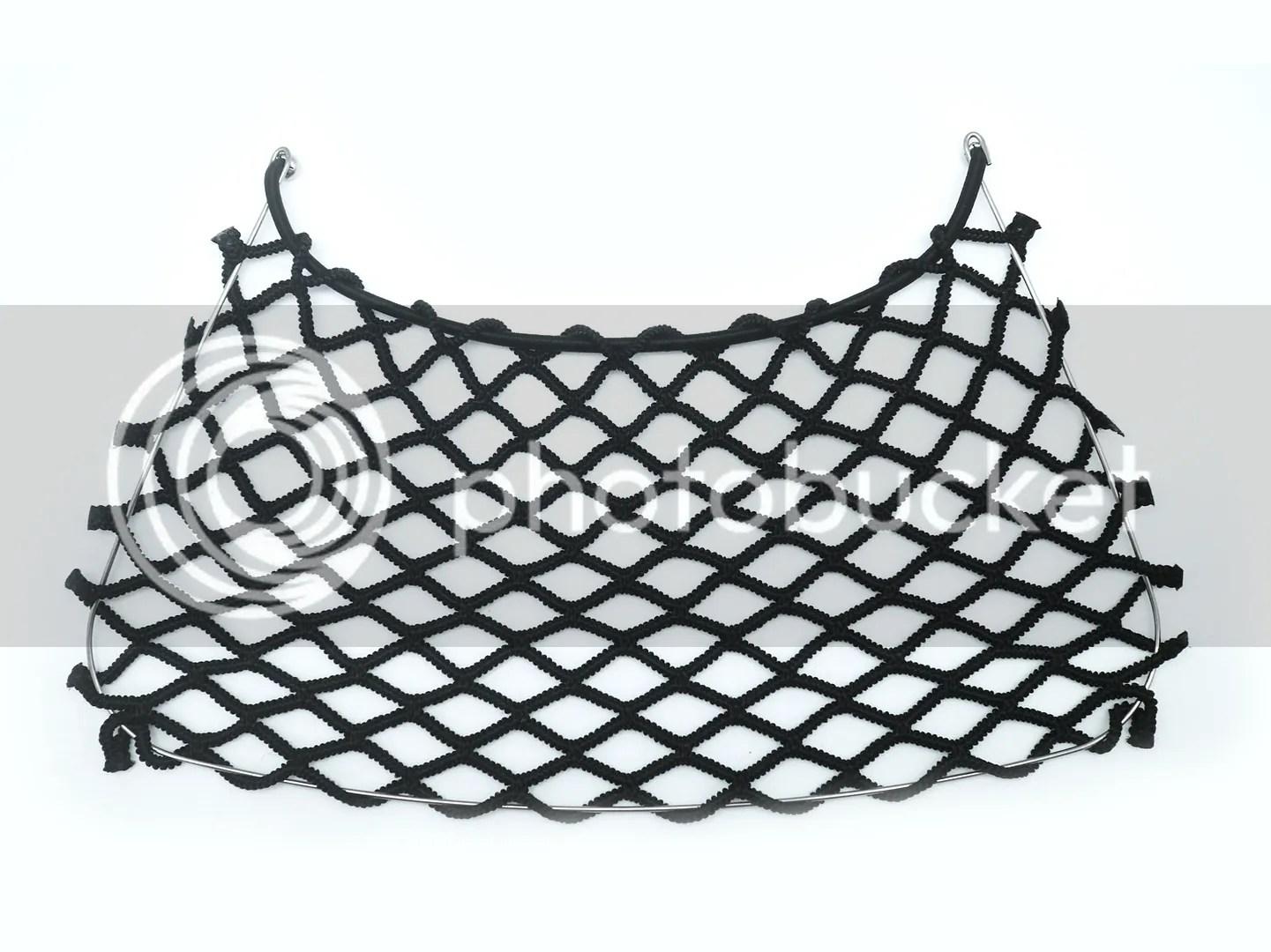 Rear Trunk Boot Net String Bag Storage Cargo Mesh For