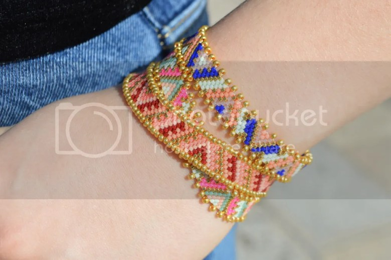 DIY - Bracelets en tissage peyote