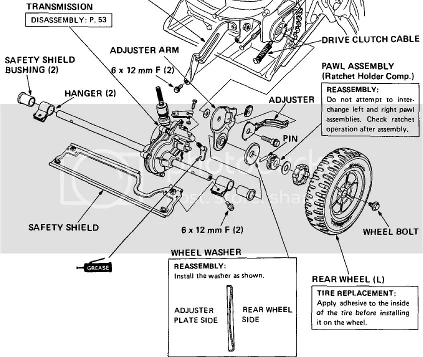 Honda Hr215 Mower Parts Diagram. Honda. Auto Wiring Diagram